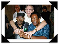 The Three Masters - Gene Ludwig, Jimmy McGriff & Seleno Clarke, Mt. Vernon, NY, 8/2004