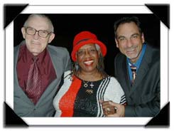 Organists Gene, Trudi Pitts and Tony Monaco at the Jimmy Smith Memorial Jam 2/17/05, Clef Club in Philadelphia, PA