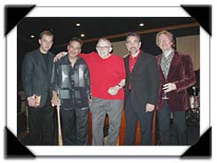 ExtravORGANza PJS Winter JazzFest Pgh PA Feb. 2006 (l-r) Tom Wendt, Tony Monaco, Gene, Mike LeDonne and Randy Johnston