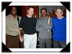 Cliff Bell's, Detroit MI  Nov. 2007 l-r: Mark Strickland, Ron Wilson, George Davidson, Gene